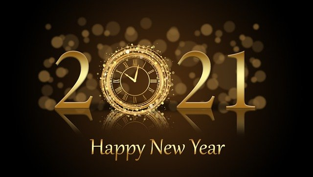 新年快乐Happy New Year 2021