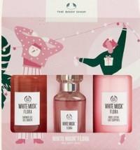 The Body Shop 圣诞礼物白麝香精选粉红大礼盒