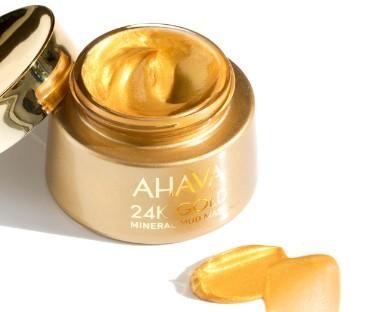 AHAVA 24K Gold Mineral Mud Mask (AHAVA 24K 黄金矿物泥面膜)