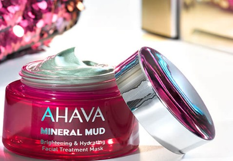 AHAVA Brightening & Hydrating Facial Treatment Mask (AHAVA 亮白保湿面膜)