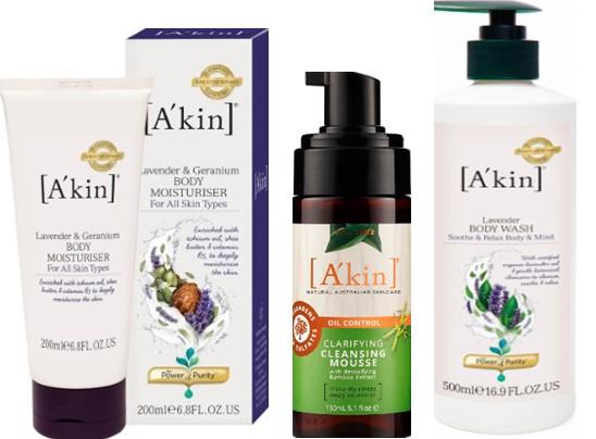 A'Kin 澳洲最受欢迎的天然有机护肤品详情