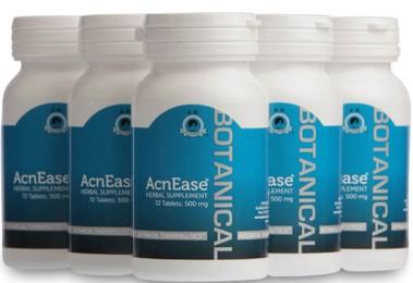 AcnEase Moderate Acne Treatment 痤疮修复祛痘胶囊5 瓶套装