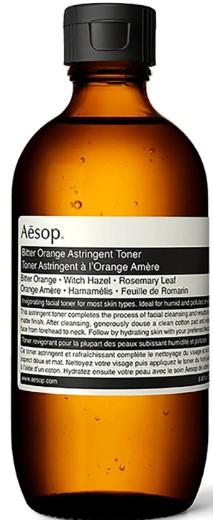 Aesop Bitter Orange Astringent Toner 伊索苦橙收敛调理爽肤水200毫升