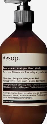 Aesop Reverence Aromatique Hand Wash (伊索洗手液)
