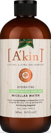 A'kin Supersize Hydrating Micellar Water (A'kin保湿洁面液)