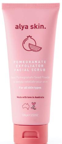 Alya Skin Pomegrante Facial Exfoliator 石榴磨砂膏100克