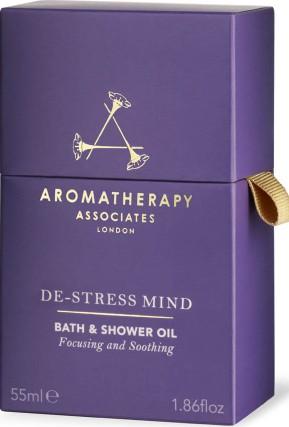 Aromatherapy Associates De-Stress Mind Bath & Shower Oil (55ml) (Aromatherapy Associates 心灵放松沐浴油)
