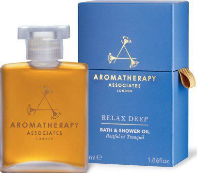 Aromatherapy Associates Relax Deep Relax Bath & Shower Oil (55ml) (Aromatherapy Associates 深度放松沐浴油)