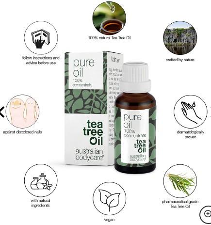 Australian Bodycare Pure Oil 30ml (Australian Bodycare 澳大利亚身体护理纯茶树油)