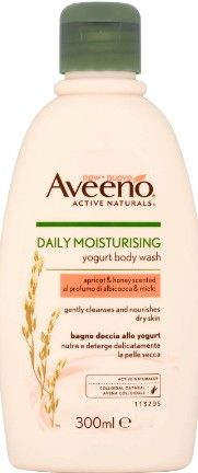 Aveeno Daily Moisturising Body Wash - Apricot and Honey