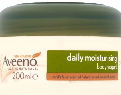 Aveeno Daily Moisturising Body Yogurt - Vanilla and Oat