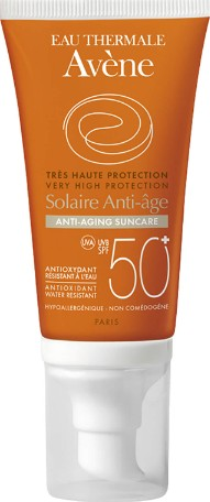 Avene Anti-Ageing Sunscreen SPF50+ Very High Protection 50ml (Avene 强效抗衰老防晒霜)