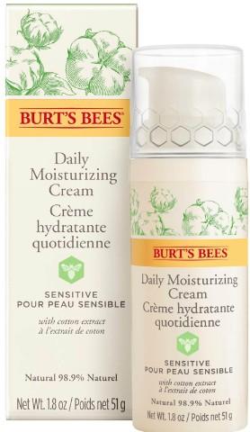 Burt's Bees Sensitive Daily Moisturising Cream 50g (Burt's Bees 小蜜蜂敏感肌肤保湿日霜 50克)