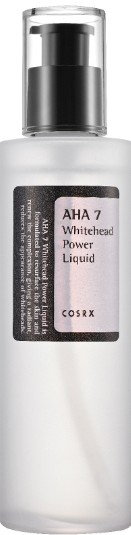 COSRX AHA 7 Whitehead Power Liquid 100ml (COSRX AHA 7 果酸去白头粉刺精华水100毫升)