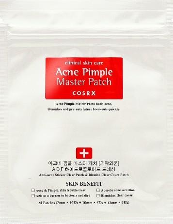 COSRX Acne Pimple Master Patch (24 Patches) (COSRX 珂丝艾丝粉刺痘痘贴纸 (24 个贴纸装))