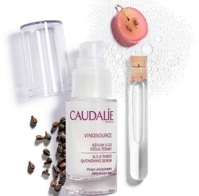 Caudalie Vinosource SOS Thirst Quenching Serum 30ml (Caudalie Vinosource SOS 急救补水保湿精华液 30 毫升)