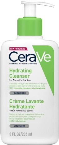 CeraVe Hydrating Cleanser 236ml (CeraVe 保湿洁面乳 236毫升)