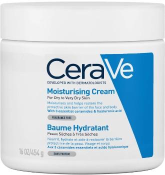 CeraVe Moisturising Cream 454g (CeraVe 保湿霜 454克)