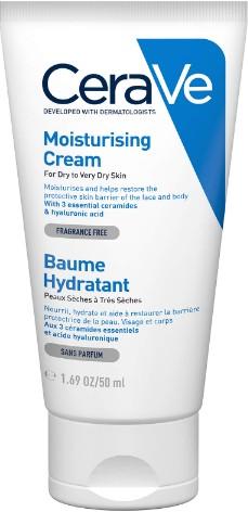 CeraVe Moisturising Cream 50ml (CeraVe 面部保湿霜 50毫升)