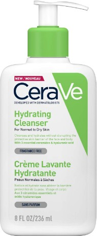 CeraVe Hydrating Cleanser 236ml (CeraVe 保湿洁面乳)