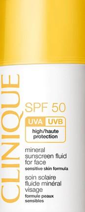 Clinique Mineral Sunscreen Fluid for Face SPF50倩碧矿物防晒乳