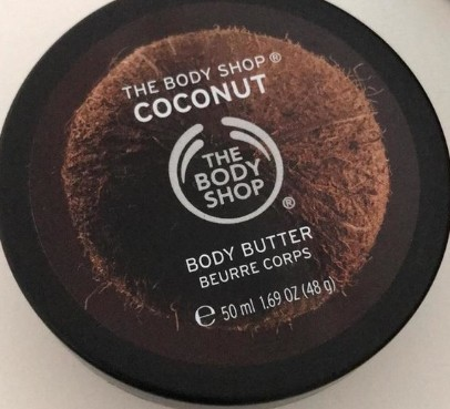 The Body Shop Coconut Nourishing Body Butter 美体小铺椰子滋养身体护肤膏
