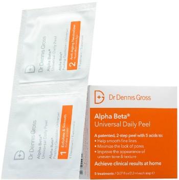 Dr Dennis Gross Skincare Alpha Beta Universal Daily Peel日常护肤去角质霜 (5包)