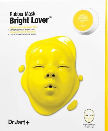 Dr.Jart+ Dermask Bright Lover Rubber Mask 47g (Dr.Jart+ 黄色橡胶亮肤面膜 47克)