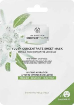 The Body Shop Drops of Youth™ Youth Concentrate Sheet Mask 青春浓缩片装面膜