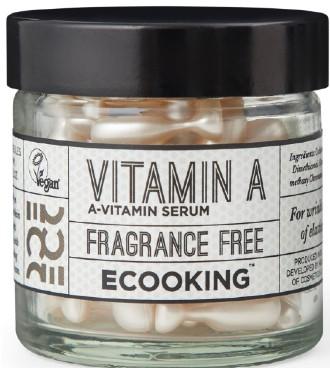 Ecooking Vitamin A Serum in Capsules 维他命A精华胶囊(外用而已,60粒)