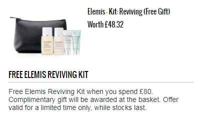 Elemis-Kit Reviving (free gift)