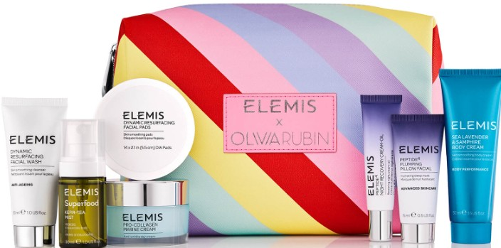 Elemis Limited Edition Olivia Rubin Travel Collection Gift Set for Her (Elemis 艾丽美Olivia Rubin限量版旅行精品套装 礼盒)