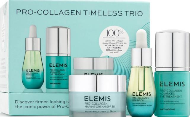 Elemis Pro-Collagen Timeless Trio (Elemis 艾丽美Pro-Collagen 抗衰老永恒三重奏)
