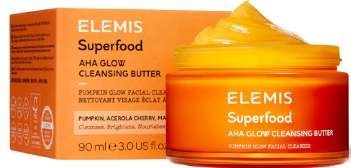 Elemis Superfood AHA Glow Cleansing Butter 艾丽美超级亮肤洁面膏90克