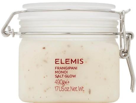 Elemis Frangipani Monoi Salt Glow, Skin Softening Salt Body Scrub 细盐磨砂膏