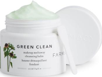 FARMACY Green Clean Make Up Meltaway Cleansing Balm 100ml (FARMACY 绿色清洁卸妆洁面膏 100毫升)