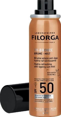 Filorga UV-Bronze Mist SPF 50+ 60ml (Filorga UV-Bronze SPF 50+菲洛嘉防晒喷雾剂 60毫升)