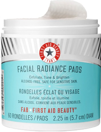 First Aid Beauty Facial Radiance Pads (60 Pads) (First Aid Beauty 面部护理垫 60片)