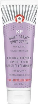 First Aid Beauty KP Bump Eraser Body Scrub with 10% AHA 226ml (First Aid Beauty身体磨砂膏 含有10% AHA 226毫升)