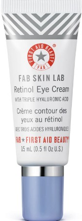 First Aid Beauty Skin Lab Retinol Eye Cream with Triple Hyaluronic Acid 15ml (First Aid Beauty 视黄醇眼霜 15毫升)