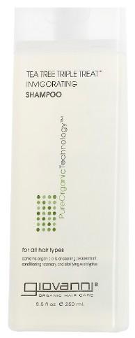 Giovanni Tea Tree Triple Treat Shampoo 茶树三重洗发露250毫升