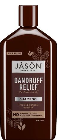 JASON Dandruff Relief Treatment Shampoo 杰森去头皮屑治疗洗发露355毫升