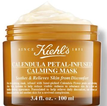 Kiehl's Calendula Petal-Infused Calming Masque 科颜氏男士护肤金盏花镇静面膜100毫升