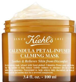 Kiehl's Calendula Petal-Infused Calming Masque 科颜氏金盏花镇静面膜100毫升