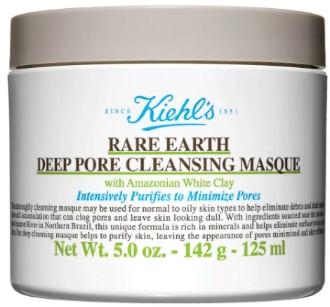 Kiehl's Rare Earth Deep Pore Cleansing Masque 科颜氏深沉清洁毛孔粘土面膜142克