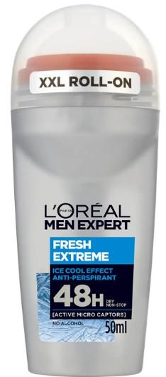 L'Oréal Men Expert Fresh Extreme Deodorant Roll-On 巴黎欧莱雅男士腋下除臭滚珠50毫升