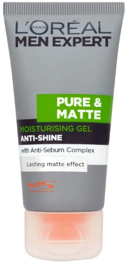 L'Oréal Men Expert Pure & Matte Anti-Shine Moisturising Gel 巴黎欧莱雅男士保湿霜50毫升