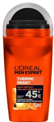 L'Oréal Men Expert Thermic Resist 48H Roll On Anti-Perspirant Deodorant 巴黎欧莱雅男士滚珠止汗除臭剂50毫升
