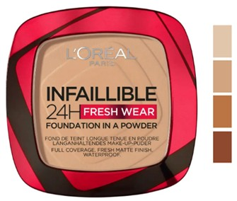 L'Oréal Paris Infallible 24 Hour Fresh Wear Foundation Powder 巴黎欧莱雅24小时粉底粉9克