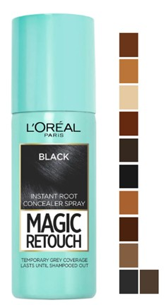 L'Oréal Paris Magic Retouch Temporary Instant Root Concealer Spray 巴黎欧莱雅暂时性染发喷雾剂 75毫升